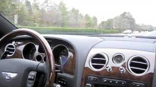 2007 Bentley Continental GT Start Up and City Driving