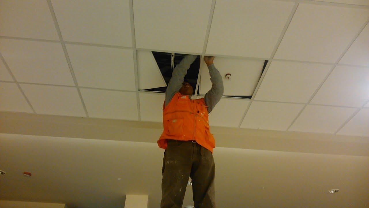 Drywall lima construcci n como instalar cielo raso for Como poner baldosas en pared