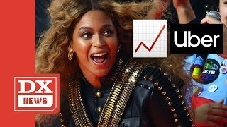 Beyonce reportedly received $6 million worth of restricted Uber sto...