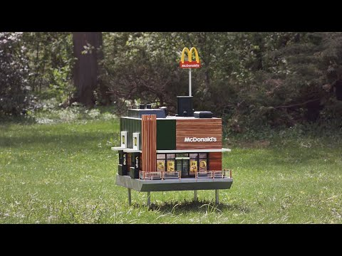 SHROOM - The World's Smallest McDonald's [Video]