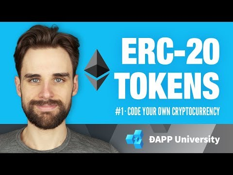 Introduction to ERC-20 Tokens · #1 Code Your Own Cryptocurre