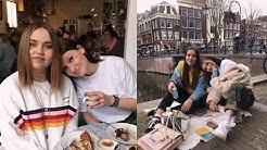 AMSTERDAM Tag 1 & 2 | Ferienwohnung, Picknick, Flohmarkt & Fahrrad fahren
