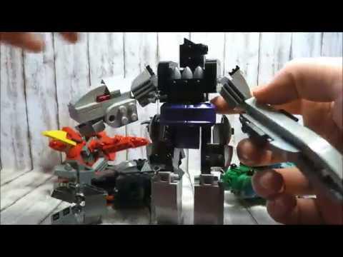 Transformers Beast Wars LEGO Custom Review -  Predacons