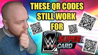 OMG THESE QR CODES FOR WWE SuperCard STILL WORK!! FREE CREDITS, FREE CARD PACKS + MORE! Noology