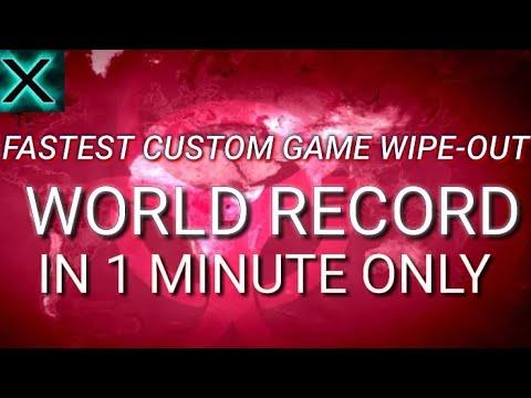 Plague Inc Fastest Custom Win! World Record.