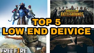 TOP 5 BATTLE ROYALE GAMES FOR ANDROID LOW END DEVICE