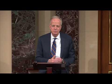 Sen. Moran Speaks on Senate Floor Following Sen. Bob Dole