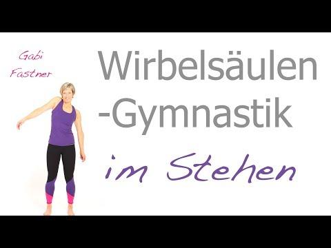 21 min. Wirbelsäulen-Gymnastik im Stehen