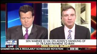 Warner: Timing of Cash Payment to Iran 'Unusual'