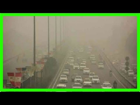 Iit-kanpur to conduct artificial rains in lucknow to reduce air pollution