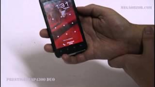 Обзор и тест Prestigio MultiPhone 4300 Duo