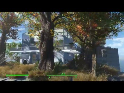 Fallout 4 floating settlement on spectacle island