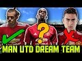 Manchester United Potential DREAM TEAM Lineup 2018 ft Sandro Bale Dybala