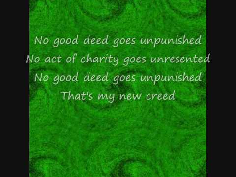 No Good Deed Wicked lyrics