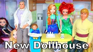 Kidkraft Dollhouse Play-doh Disney Princess Elsa Anna Barbie Peppa Pig Lps Ariel Jasmine Top Toys