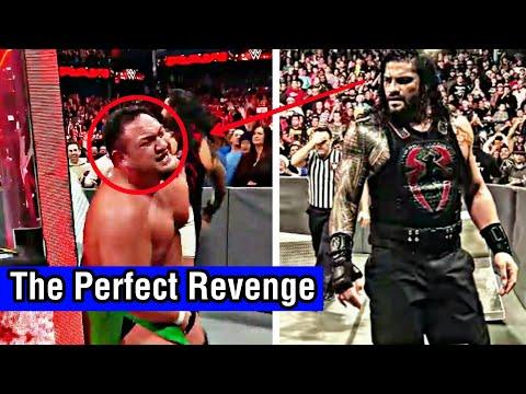 The Perfect Revenge | Roman Reigns vs Samoa Joe | WWE RAW 25 DEC. 2017 thumbnail