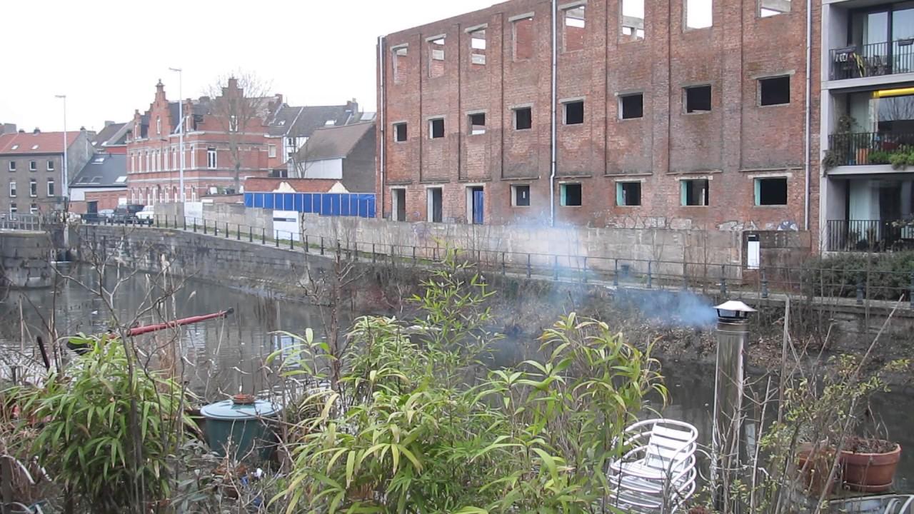 Houtrook intoxicatie scholieren    Gent centrum.