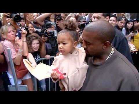 Kanye West, adorable North and the Kardashian Klan take over New York