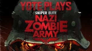 Sniper Elite | NAZI ZOMBIE ARMY: Labyrinth of Death Coop Part 1 (Campaign/gameplay)