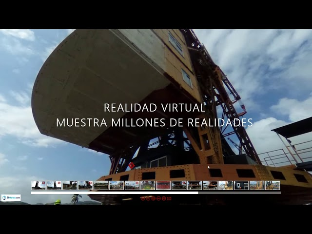 Video 24M Virtual Reality Vessel Crane