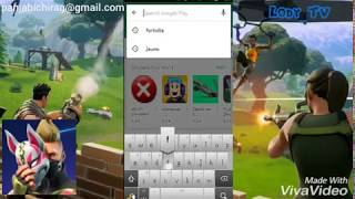 NEW! HOW TO DOWNLOAD FORTNITE ANDROID APK ON PLAY STORE WITH NO HUMAN VERIFICATION!
