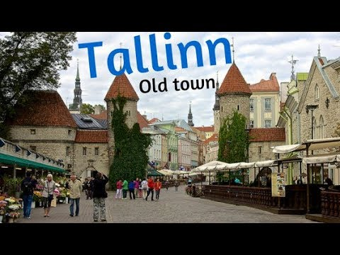 Tallinn (Estonia) travel video 2017 (Old town, Linnahall, yacht port). Things to do and see.