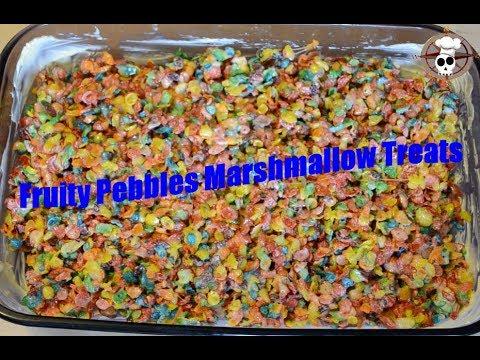 How to make Fruity Pebbles Marshmallow Treats