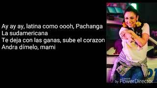 Andra-Sudamericana Versuri/Lyrics feat.Pachanga