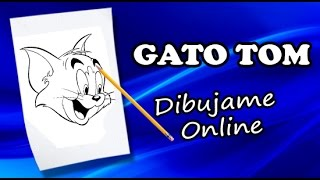 como dibujar a tom y jerry paso a paso | how to draw tom and jerry | como dibujar a tom