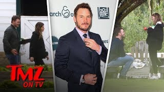 Chris Pratt On A Schwarzenegger Date! | TMZ TV