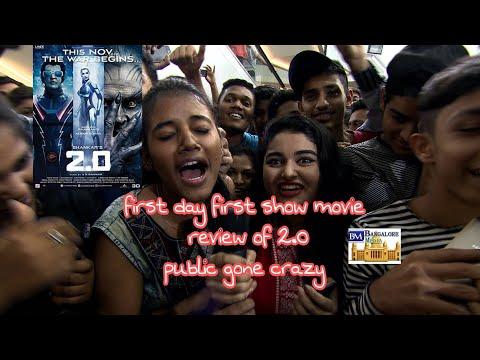 Bangalore, India reaction on 2.0 Movie Public Review | The Robot 2.O | Rajinikanth | Akshay Kumar