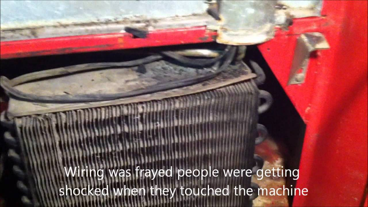Installation of new pressor and evaporator coil in a 1965 coke machine  YouTube