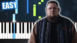 Rag'n'Bone Man - Human - EASY Piano Tutorial by PlutaX