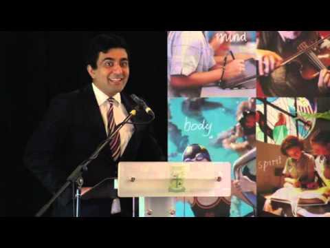 Australian of the Year Akram Azimi
