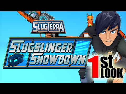Slugterra Slugslinger Showdown - NEW SLUGTERRA GAME (1st Look IOS Gameplay)