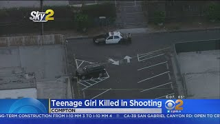 Teenage Girl Killed, 3 Others Wounded In Compton Shooting