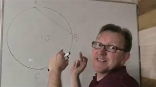 Геометрия  8 класс за час 4 часть  Вписанные углы.