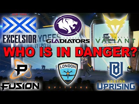 OWL Playoff Maps Revealed And Some Teams Are In Big Trouble!