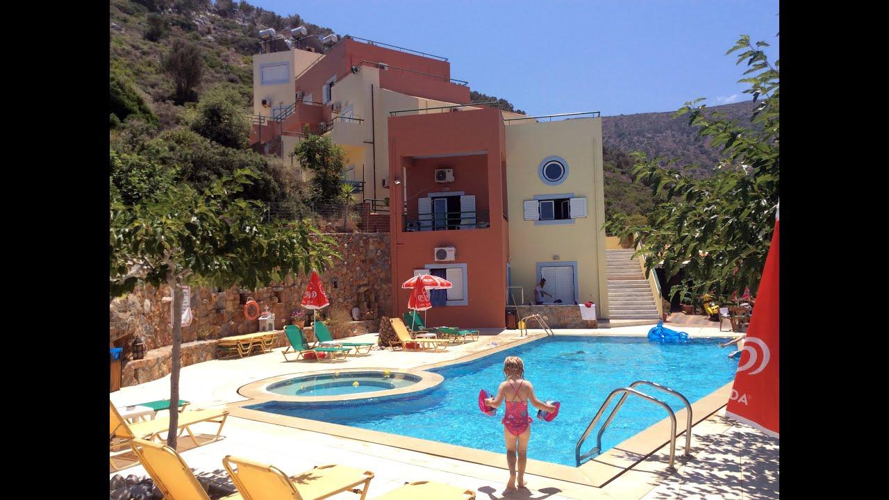 Mary Sofi apartments, Stalis, Crete - YouTube