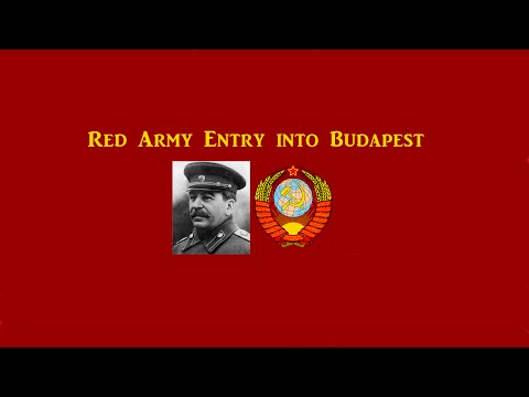 Red Army Entry into Budapest