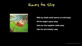 Little Feat - Easy to Slip Lyrics