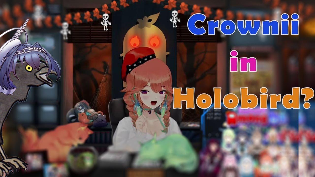 So Kronii's CROWnii is gonna be in HoloBird??