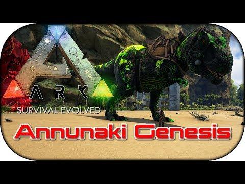 ARK Annunaki Genesis Badass Tyrannosaurus T Rex gezähmt 007