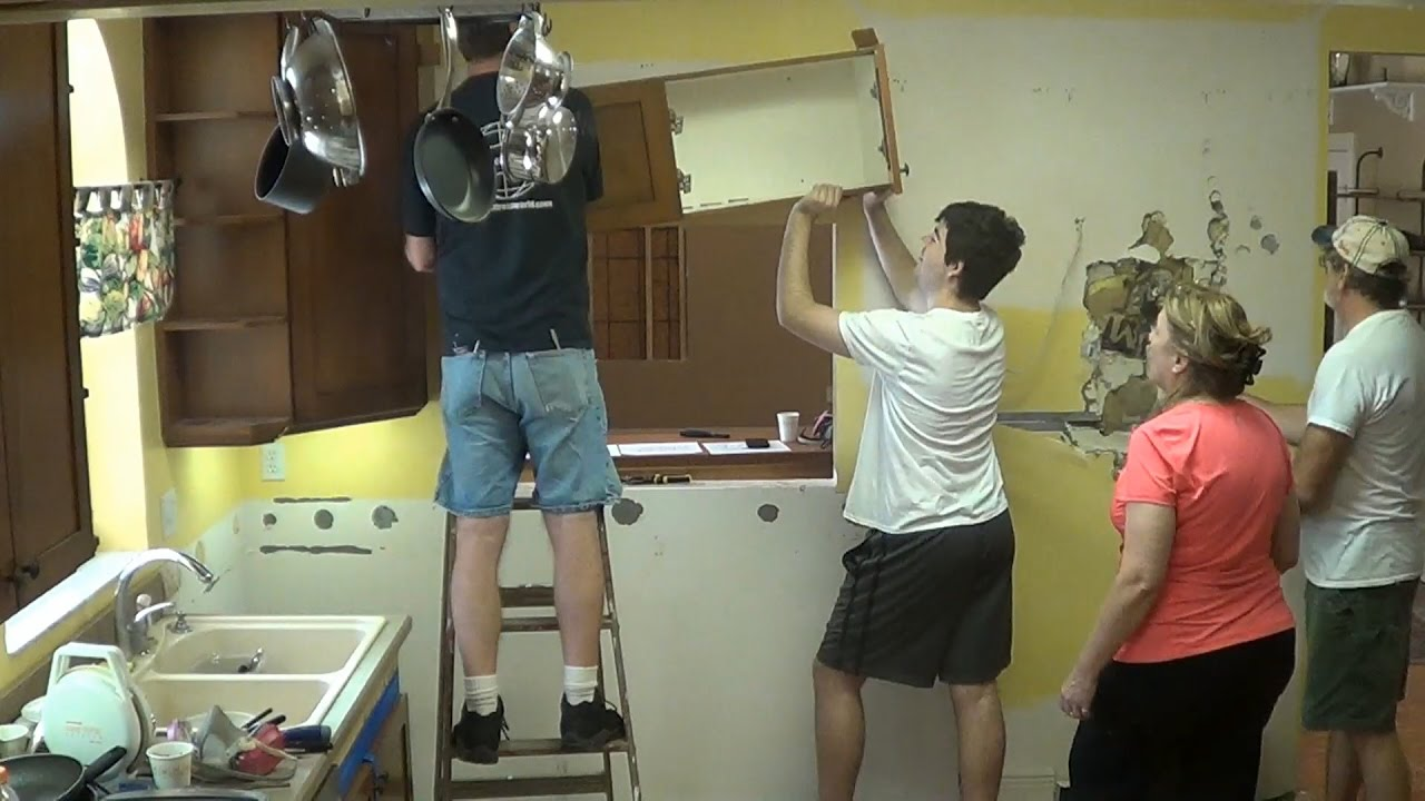 Diy Kitchen Remodel 4 Removing Old Cabinets