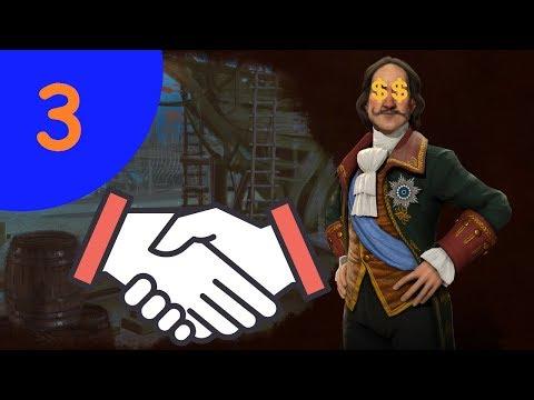 Civilization VI   RUSIA #3 LA DIPLOMACIA Y EL DINERITO