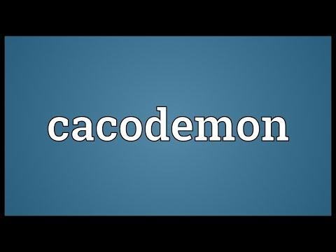 Header of cacodemon