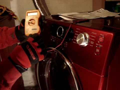 hqdefault samsung dryer repair youtube samsung dryer heating element wire diagram at mifinder.co