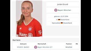 Women s Soccer Jordan Grundl Germany Training Recruit 2022
