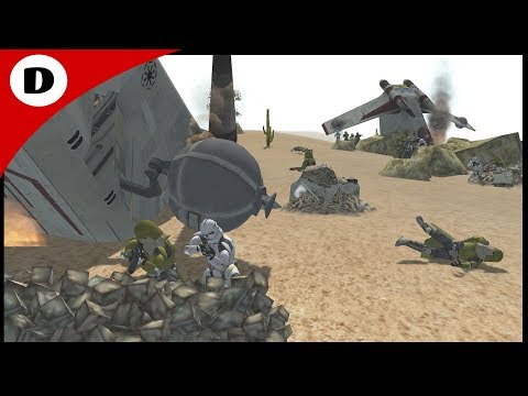 DOWNED GUNSHIP RESCUE ~ Star Wars: Rico's Brigade 7