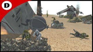 DOWNED GUNSHIP RESCUE ~ Star Wars: Rico's Brigade 7